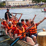 Гонки на лодках «Дракон» в честь Дня молодёжи