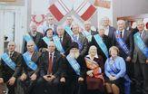 Поздравили с Новым годом Совет почётных граждан