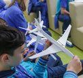 Запуском авиамоделей завершилась авиационная смена ОАК в «Артеке»