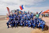 «КАМАЗ-мастер» занял весь пьедестал почета по итогам «Дакара-2021»